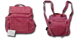 Quilted Backpack Pink Raspberry Ice for Women / Girls