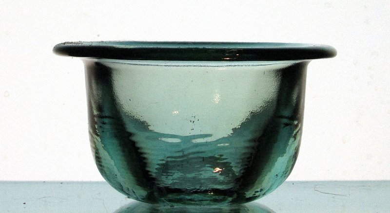 Hanging Candle Holder 4.25 x 2.5 Coke Glass Heavyweight