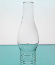 Hurricane Lamp Shade Tall Chimney 3 inch fitter x 10 x 2
