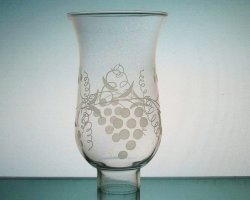 Hurricane Shade Grape Clusters 1 5/8 inch fitter x 5.75 with 3/4 inch neck