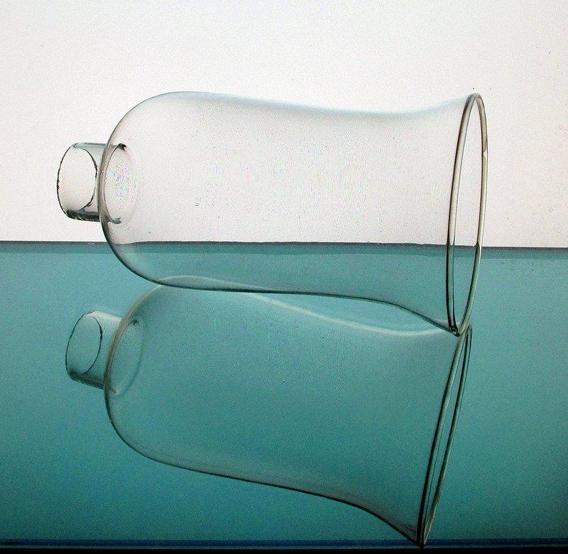 Hurricane Lamp Shade 1 5/8 inch fitter x 6 5/8 x 3 5/8