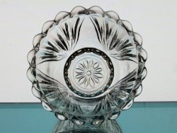 '.Candle Holder Scalloped Rim.'