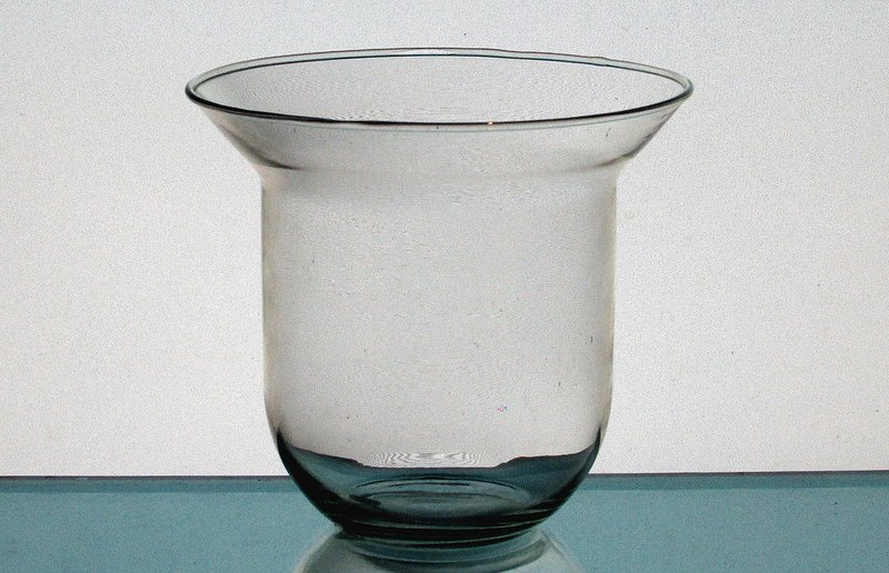 Hanging Candle Holder 5 x 5.25 Clear Glass HCH080