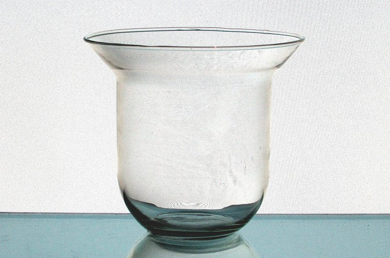 Hanging Candle Holder 5 X 5 25 Clear Glass Hch080 Oos