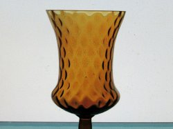 '.Peg Votive Holder Amber Tudor.'