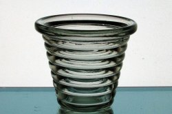 Hanging Candle Holder Terraced Rings 3.75 x 3.25 Pale Green HCH088