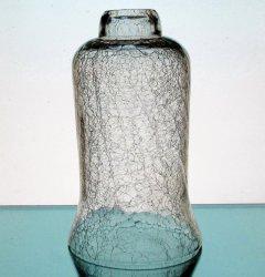 '.Crackle Glass Hurricane Globe.'