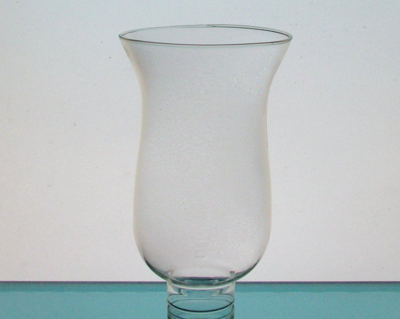 Hurricane Lamp Shade 1 5/8 inch fitter x 6.5 x 4 Simple Flare Clear
