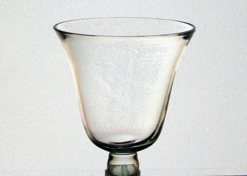 Hanging Candle Holder Flared Rim with Knob 3.25 w x 3.5 h iridescent HCH100