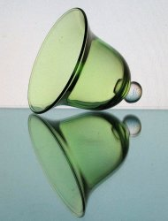 '.Hanging Candle Holder Green.'