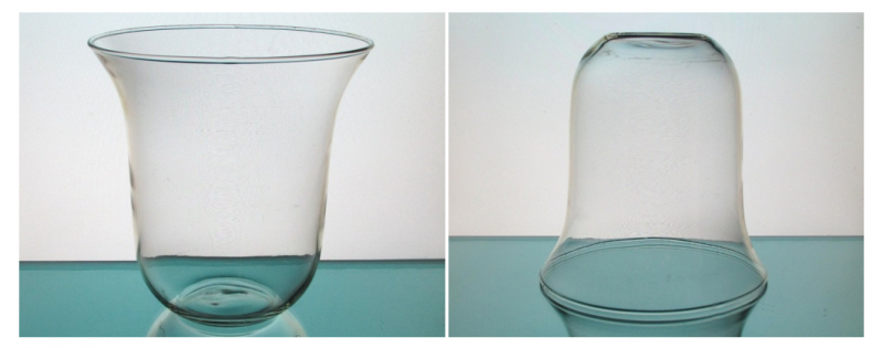 Image 4 of Hanging Candle Holder / Vase 6.75 x 7 for 5.25 inch support ring HCH122