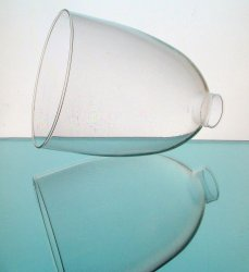 '.Glass Lamp Shade 1.75 inch.'