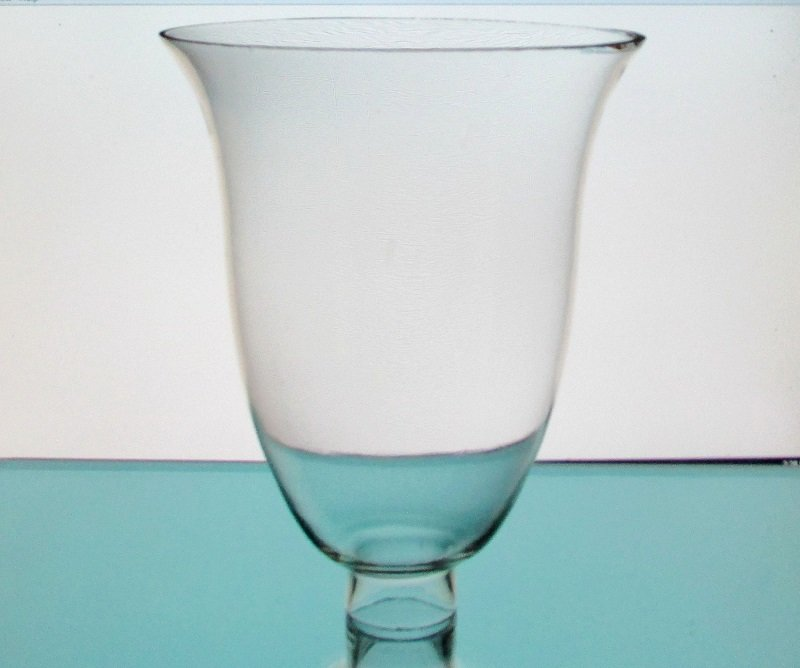 Glass Lamp Shade 1.75 inch fitter x 7 x 8.5 Flared Rim