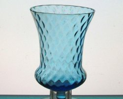 '.Peg Votive Candle Holder Blue.'