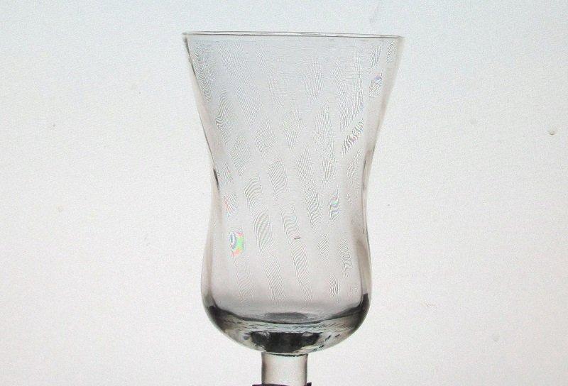 Peg Votive Candle Holder Swirled Pattern Flat Rim Clear