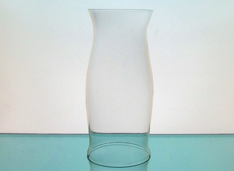 Hurricane Lamp Shade Cylinder 3 3/8 x 7 5/8 x 3 3/16 Open Ended Clear HLS002