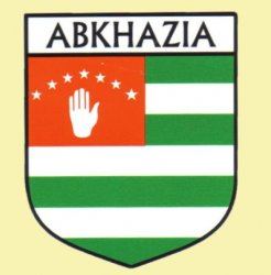 Abkhazia Flag Country Flag of Abkhazia Decals Stickers Set of 3