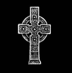 Ahenny Irish Celtic Cross Sterling Silver Celtic Cross Pendant