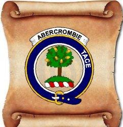 Adam Clan Badge Large Print Adam Scottish Clan Crest Badge