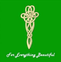 Celtic Line Of Life Knotwork 9K Yellow Gold Kilt Pin