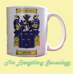Appleby Coat of Arms Appleby Family Crest Ceramic Mug