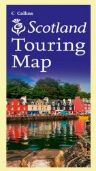 Scotland Touring Map Collins Folded Map Guide