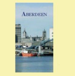 Aberdeen Scotland Themed Photograph Small Spiral Pocket Notebook