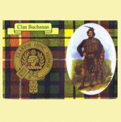 Buchanan Clan Crest Tartan History Buchanan Clan Badge Postcard