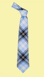 Bell Of The Borders Tartan Lightweight Wool Straight Mens Neck Tie