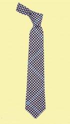 Buccleuch Check Tartan Lightweight Wool Straight Mens Neck Tie