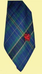 Eynon Beynon Welsh Tartan Worsted Wool Straight Mens Neck Tie