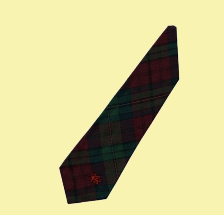 Image 2 of Pope Welsh Tartan Worsted Wool Straight Mens Neck Tie