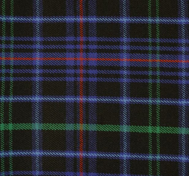 Image 1 of Pride Of Wales Welsh Tartan Worsted Wool Unisex Fringed Scarf