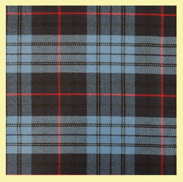 Image 2 of Roberts Probert Welsh Tartan Worsted Wool Unisex Fringed Scarf