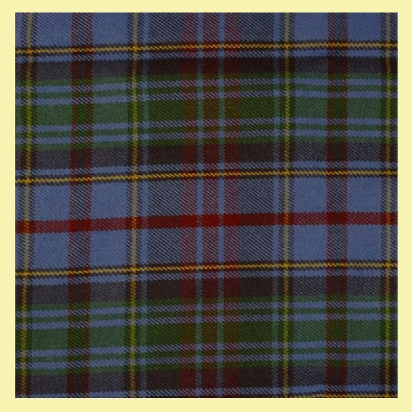 Image 0 of County Of Powys Welsh Tartan Worsted Wool Unisex Fringed Scarf