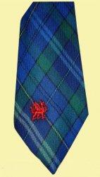 Davis Davies Welsh Tartan Worsted Wool Straight Mens Neck Tie