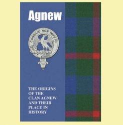 Agnew Clan Badge History Scottish Family Name Origins Mini Book