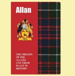 Allan Coat Of Arms History Scottish Family Name Origins Mini Book