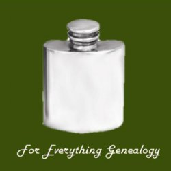 Top Pocket Small Stylish Pewter Pocket 1oz Hip Flask