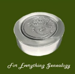 Twinkle Star Motif Round Child Stylish Pewter Keepsake Box