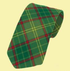 Armagh County Irish Tartan Straight Lightweight Wool Mens Neck Tie