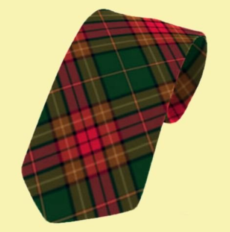 Image 0 of Cavan County Irish Tartan Straight Lightweight Wool Mens Neck Tie