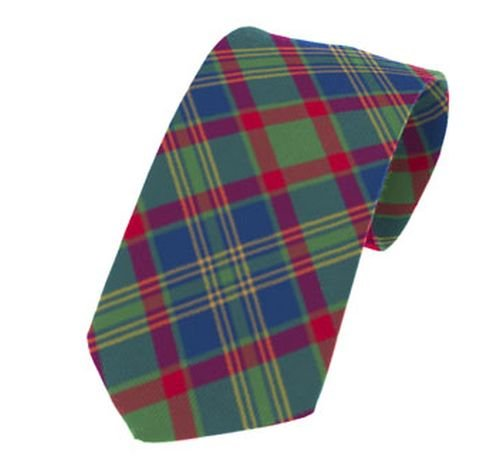 Image 1 of Cork County Irish Tartan Straight Lightweight Wool Mens Neck Tie