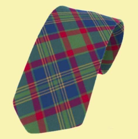 Image 0 of Cork County Irish Tartan Straight Lightweight Wool Mens Neck Tie