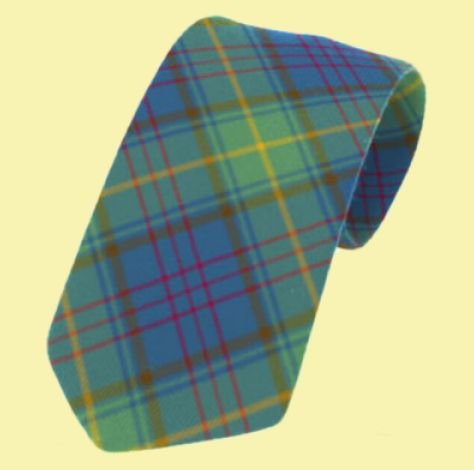Image 0 of Donegal County Irish Tartan Straight Lightweight Wool Mens Neck Tie