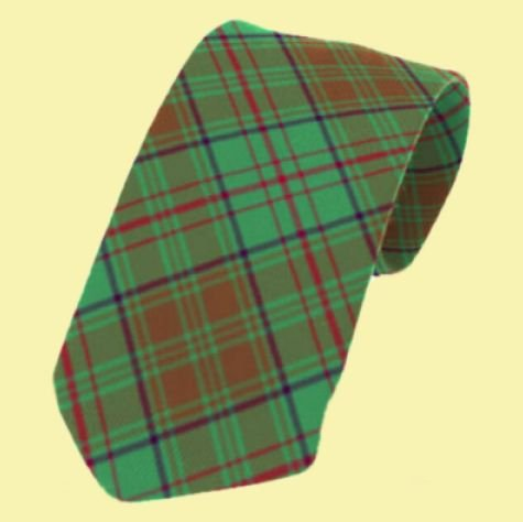 Image 0 of Dublin County Irish Tartan Straight Lightweight Wool Mens Neck Tie