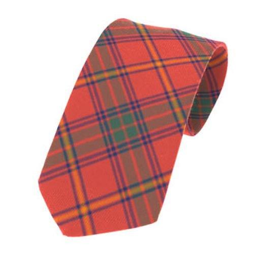 Image 1 of Galway County Irish Tartan Straight Lightweight Wool Mens Neck Tie