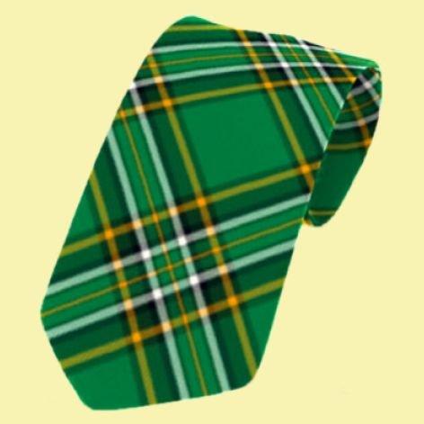 Image 0 of Irish National Tartan Straight Lightweight Wool Mens Neck Tie