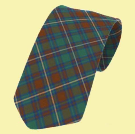 Image 0 of Kerry County Irish Tartan Straight Lightweight Wool Mens Neck Tie