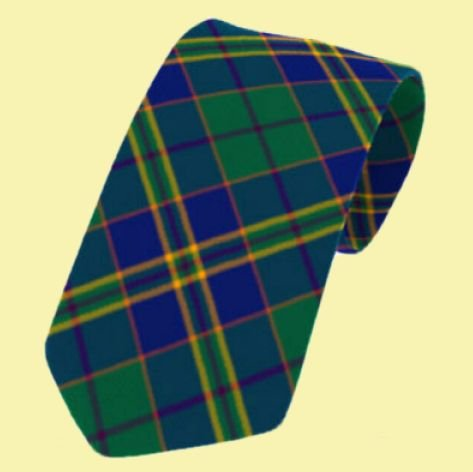 Image 0 of Kilkenny County Irish Tartan Straight Lightweight Wool Mens Neck Tie